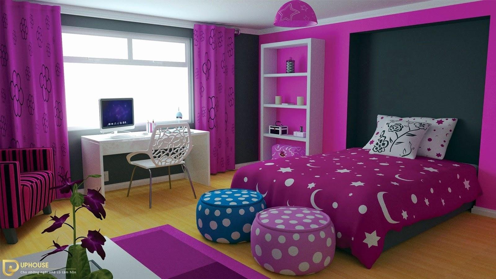 Phòng ngủ cho người mệnh Hỏa 03