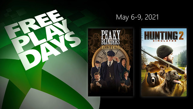 hunting simulator 2 peaky blinders mastermind xbox live gold free play days event