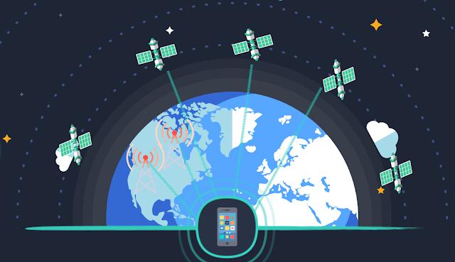 ابل تعمل على تطوير تقنية الأقمار الصناعية لدعم أجهزتها