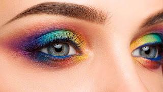 طرق تطبيق مكياج العيون بألوان زاهية للزفاف