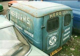 Hepburns service van from 1969