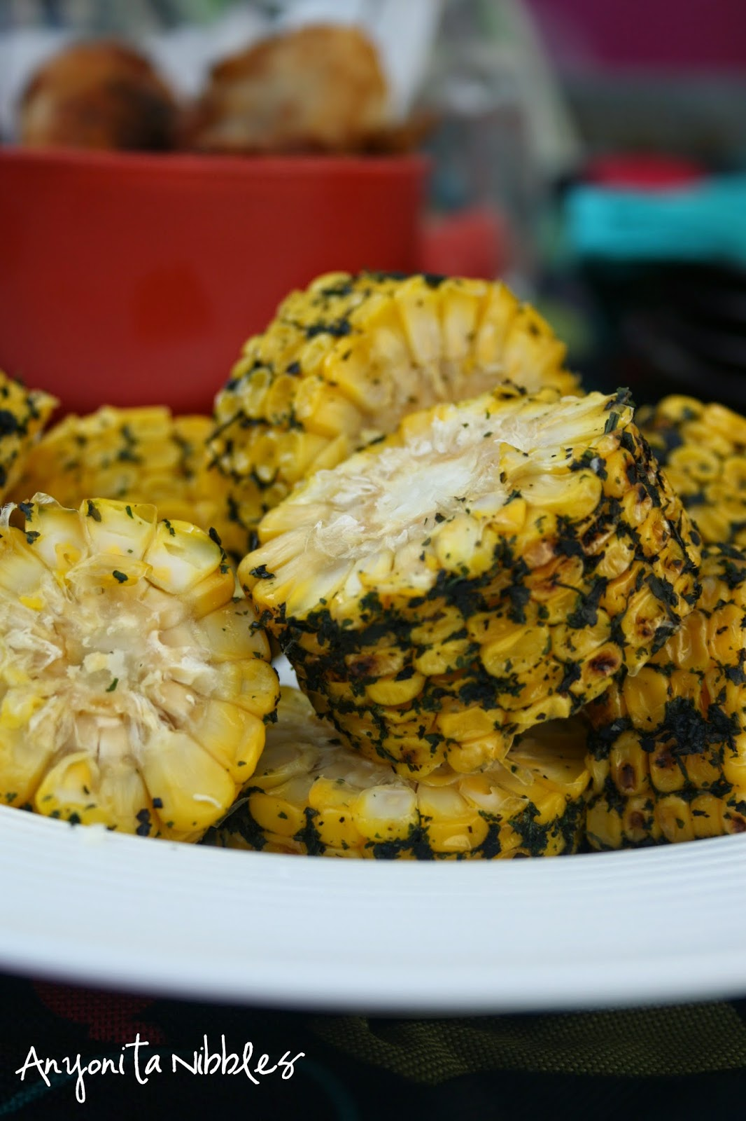 Coriadner Griddled Corn by Anyonita Nibbles