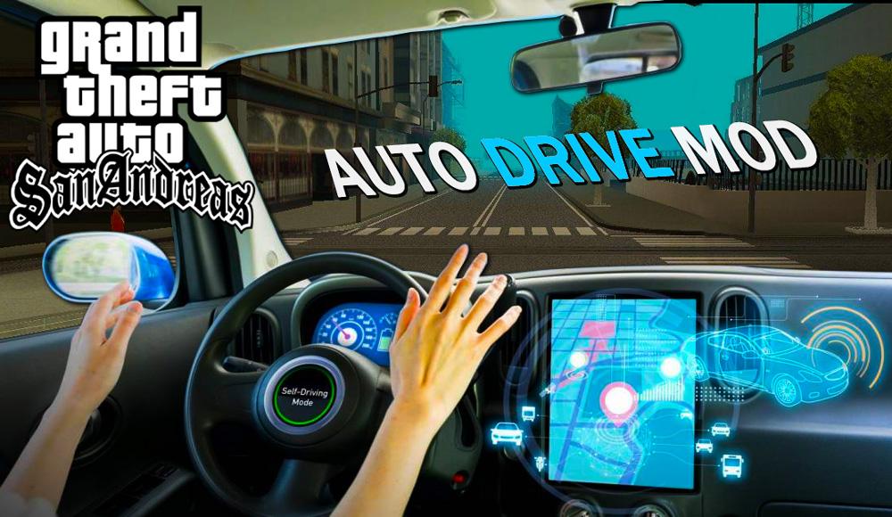 GTA SAN ANDREAS AUTO DRIVER MOD PC