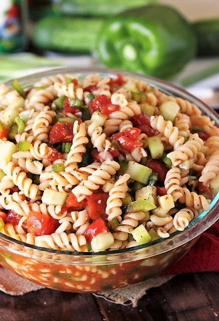 Bowl of Ma's Picnic Pasta Salad Image