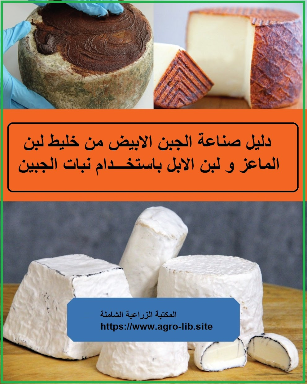 كتاب : دليل صناعة الجبن الابيض من خليط لبن الماعز و لبن الابل باستخدام نبات الجبين