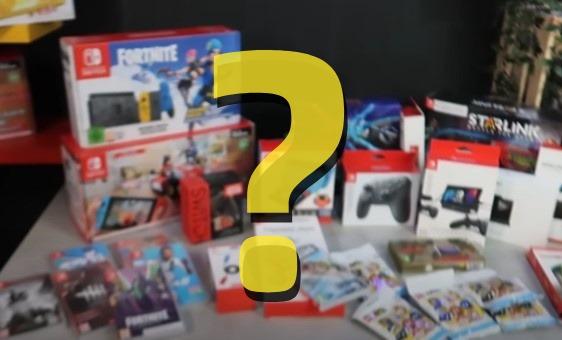 Sorteio de um Nintendo Switch Fortnite Edition e muito mais