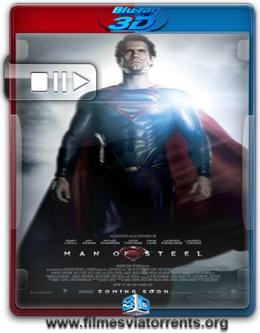 O Homem de Aço Torrent - BluRay Rip 1080p 3D HSBS Legendado (2013)