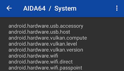 Cara Cek Vulkan Support di Android - AIDA64