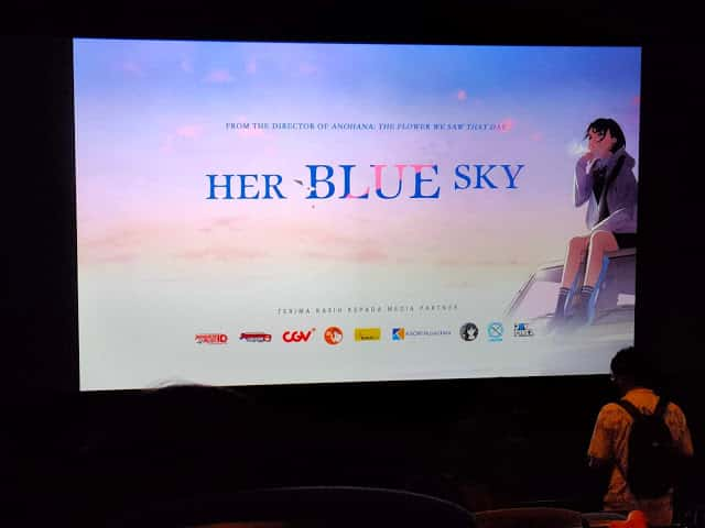 Review Anime Movie Her Blue Sky yang Baru Saja 'Premiere' di CGV Grand Indonesia