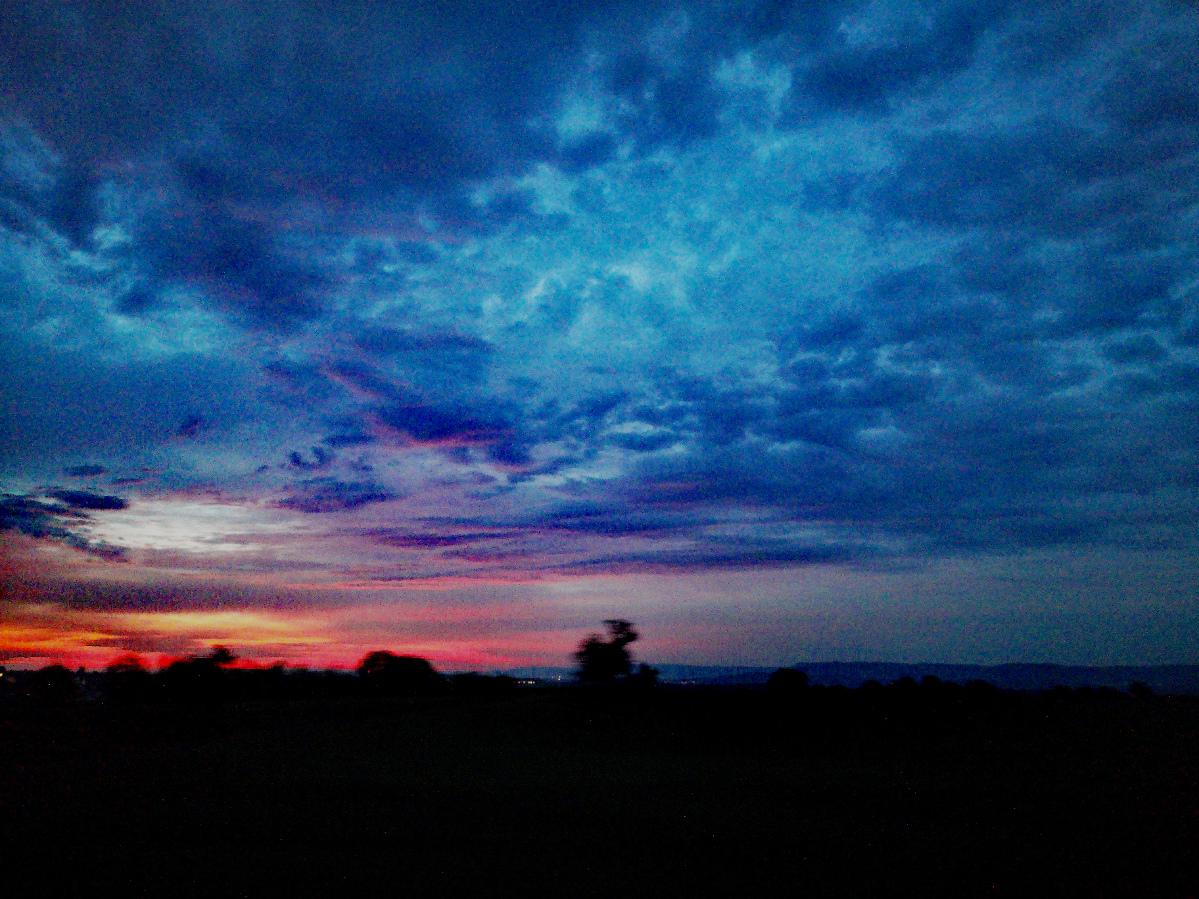 Huawai P20 – Sonnenaufgang am 28.08.2019