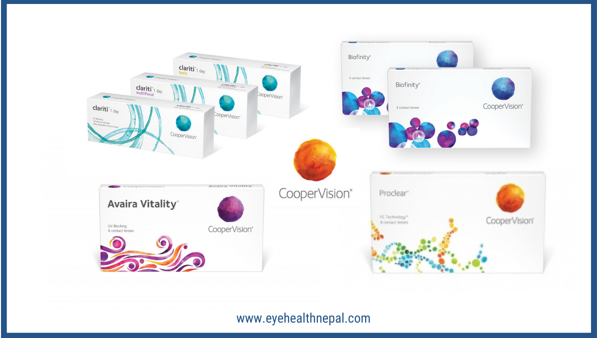 Cooper vision Contact Lens in Nepal
