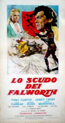 lo scudo dei Falworth 1954