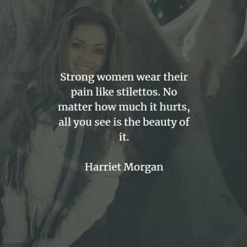 Strong woman quotes and sayings from famous people