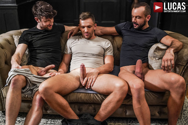 #LucasEntertainment - DREW DIXON SERVICES SIR PETER AND ANDREY VIC'S UNCUT COCKS