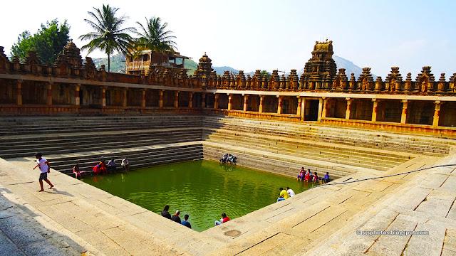 The Shringi Thirtha, Bhoga Nandeeshwara Temple, Bangalore