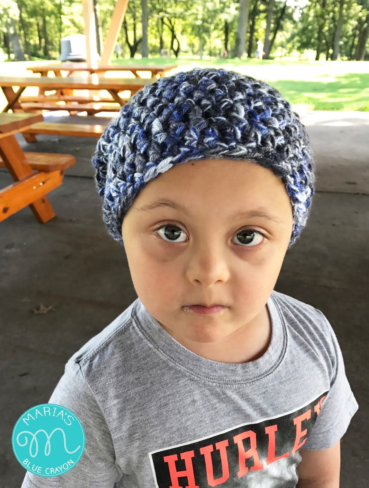 Trevor Slouchy Beanie Crochet Pattern - Maria\'s Blue Crayon