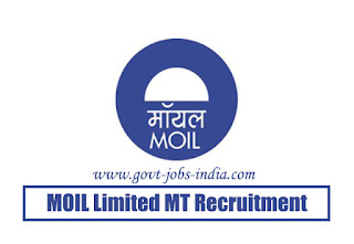 MOIL Limited MT Recruitment 2020