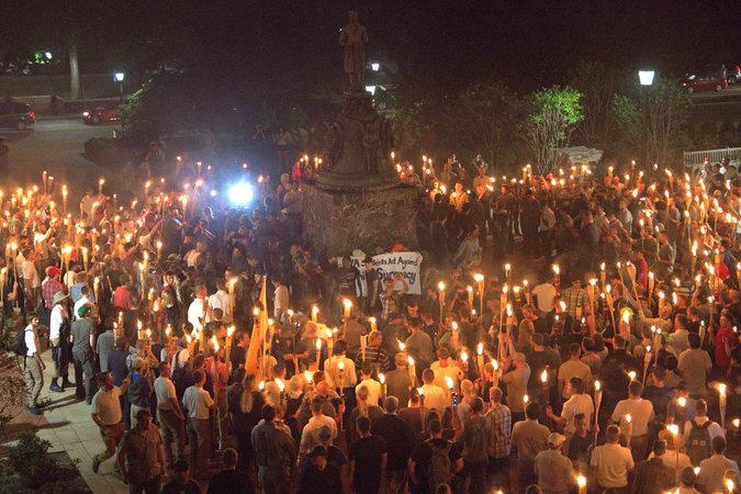 charlottesville  Torchlight%2BUVA Trump Redeemed #ALT