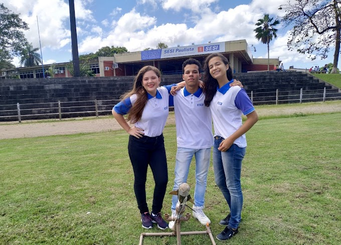 Pernambuco será representado na Mostra Brasileira de Foguetes por alunos do SESI Paulista