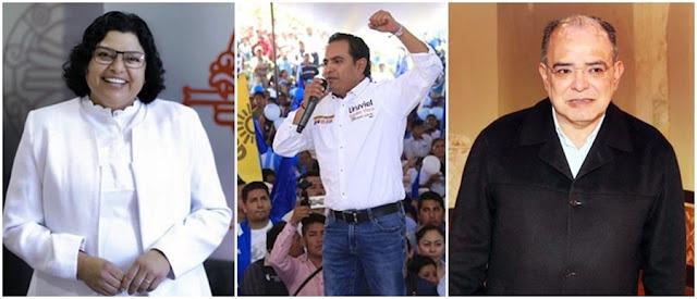 Karina, Uruviel y Márquez buscan no pagar multas al INE