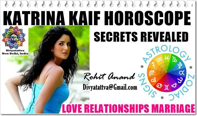 Katrina Kaif Love Astrology, Zodiac Compatibility, Horoscope Birth Charts For Marriage, Katrina Kaif Kundali Analysis For Romance And Love Relationships