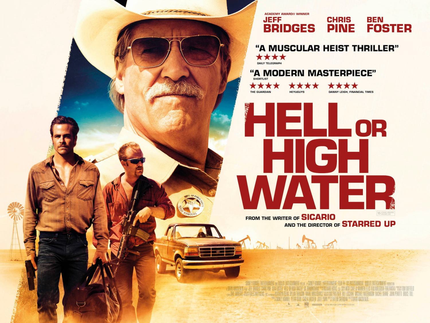 Nonton Film Hell or High Water (2016)