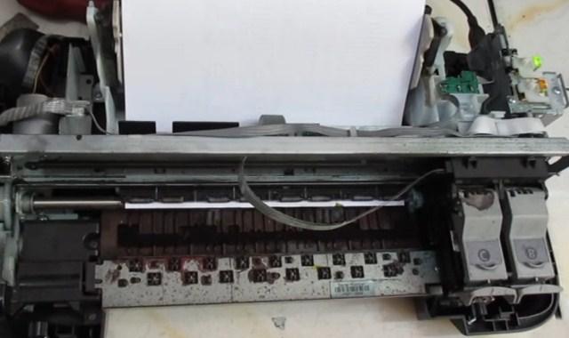 Cara Mengatasi Printer Canon iP2770 Paper Jam (Lampu Orange Berkedip 3x)
