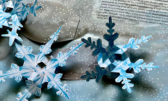 pop up snowflakes from The Weather Pop Up Book