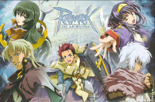 Ragnarok The Animation - Anime Tokoh Utama Menggunakan Pedang