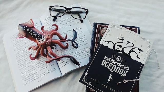 o mais profundo dos oceanos, joyce santalme, editora arwen, livros, libros, books, resenhas, blogsliterarios, eu leio nacionais, literatura nacional, literatura brasileira