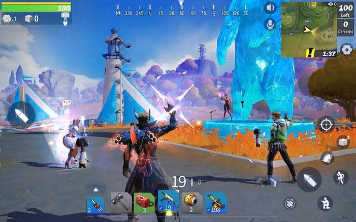 Creative Destruction Mod Apk (Unlimited Money  and Gem) gameplay