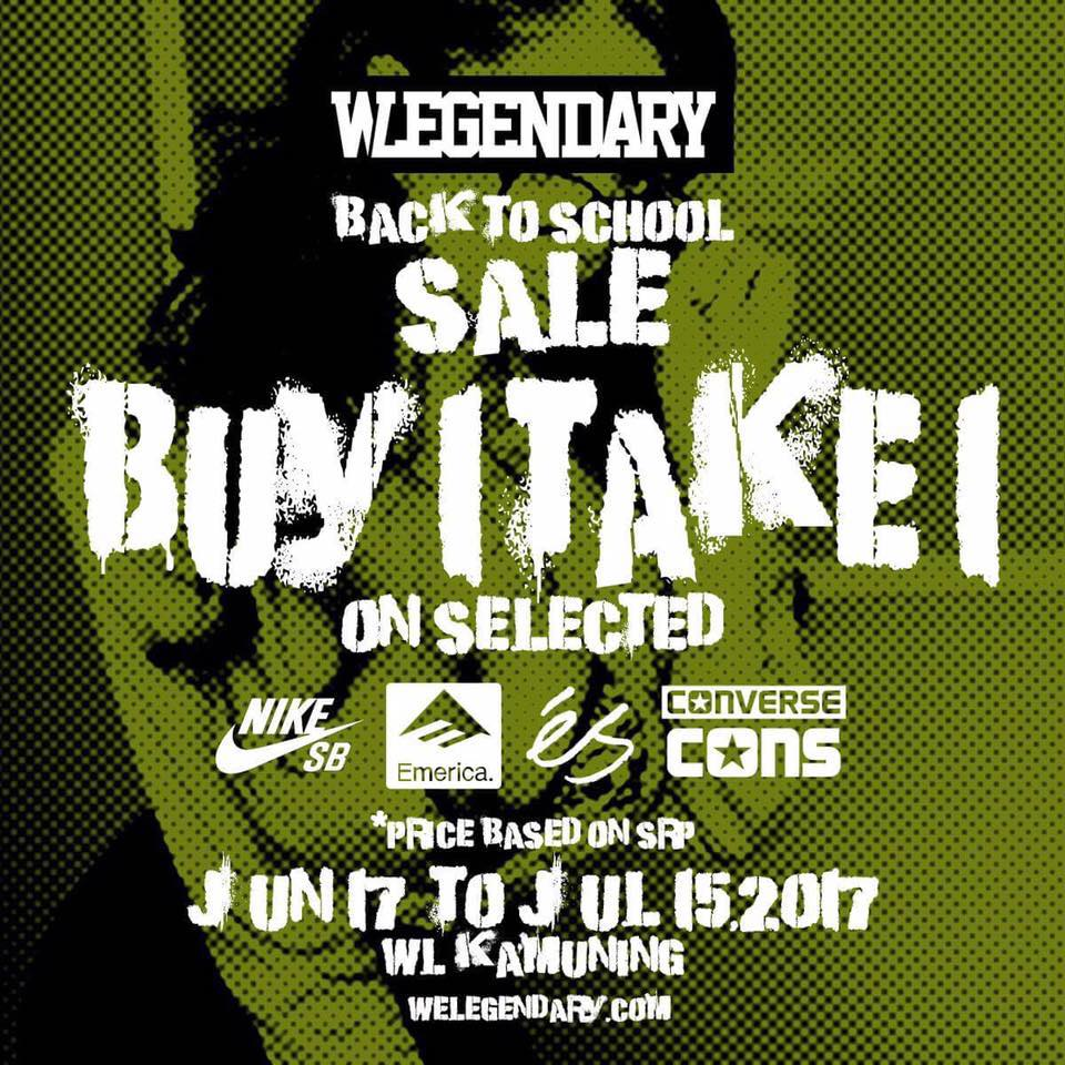 7aa3c60daed4 Manila Shopper  We Legendary Kamuning Back to School SALE  June-July ...