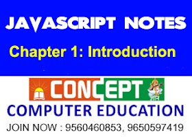 Chapter 1: Introduction to JavaScript