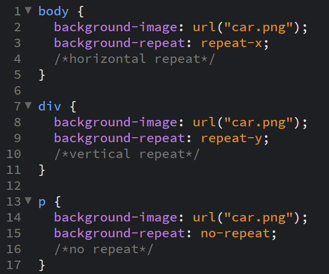 how to repeat background image in css