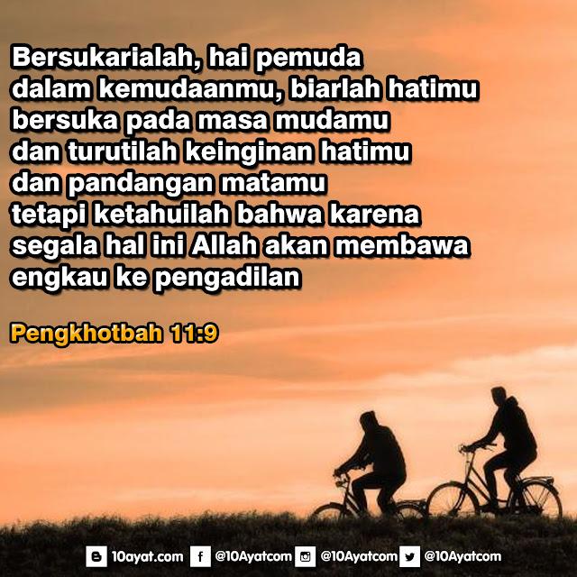 Pengkhotbah 11: 9