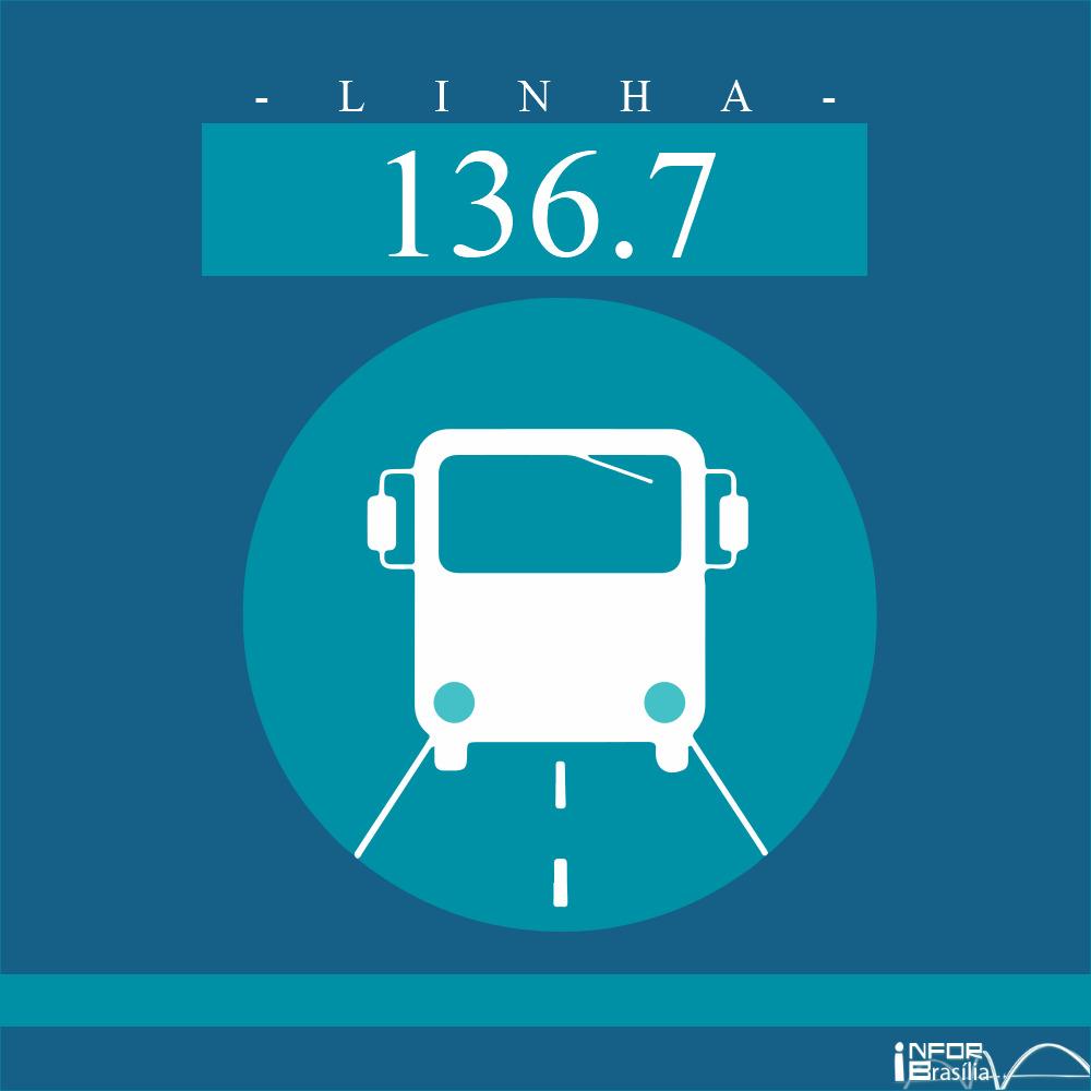 Horário e Itinerário 136.7 - Varjão/L2 Norte-Sul