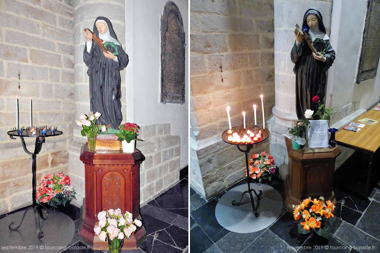 Rita et la symbolique des Roses - Tourcoing Saint-Christophe.