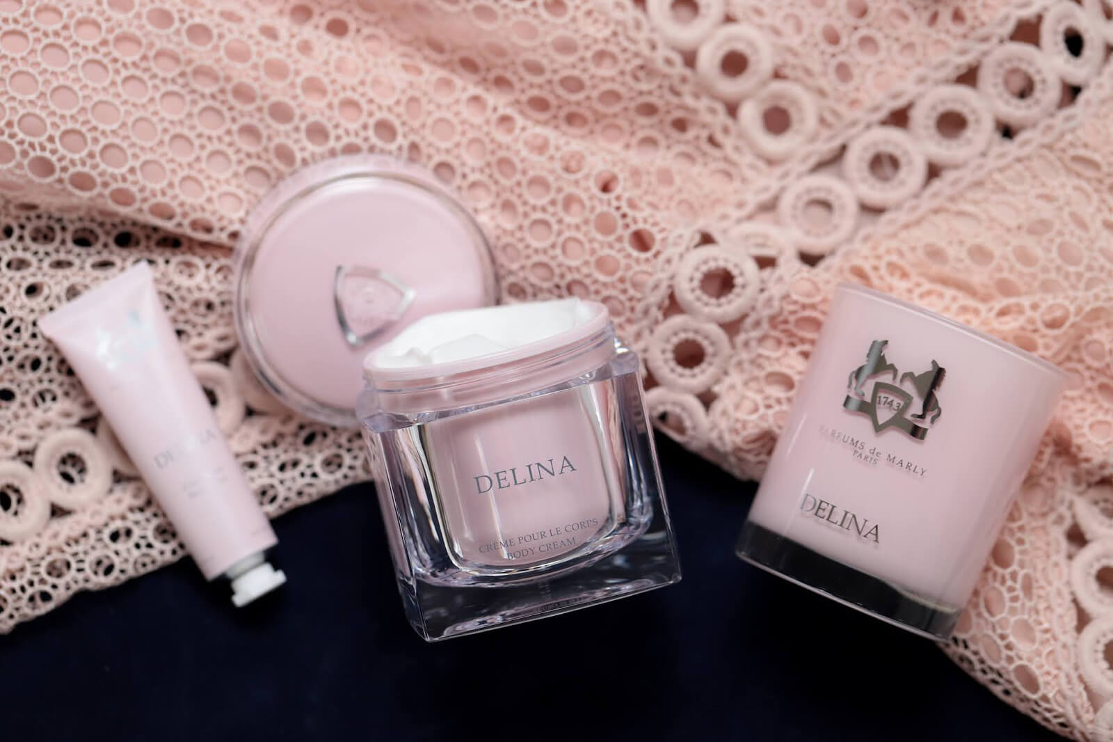 Delina Parfums de Marly Soins Corps Bougie revue