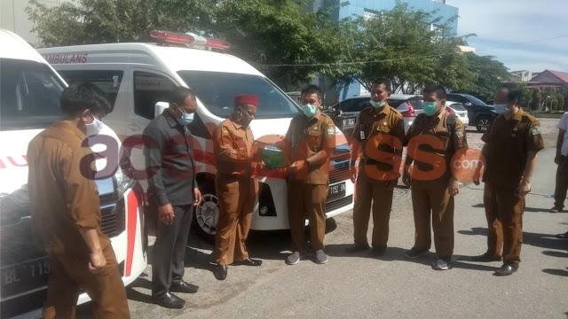 Pidie Beli Tiga Unit Ambulans untuk Tunjang Pelayanan RSUD