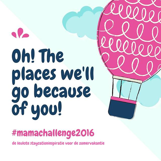 Aankondiging mama challenge 2016; de opdrachten en deelnemende blogs.