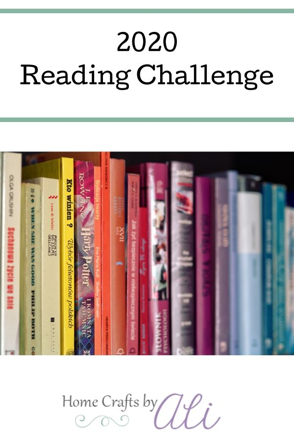 Reading Challenge 2020 free printable list