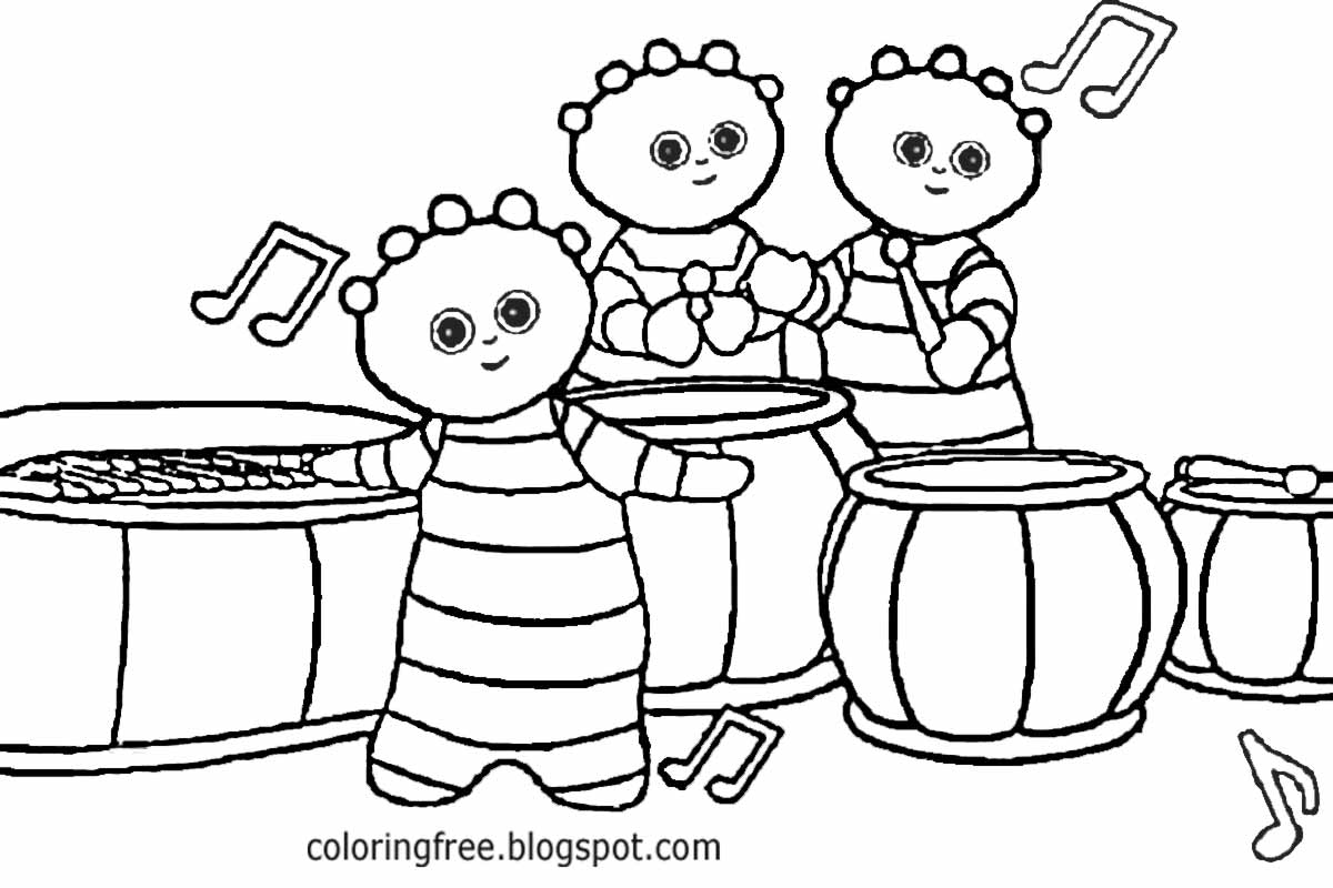 night garden coloring pages print - photo #39