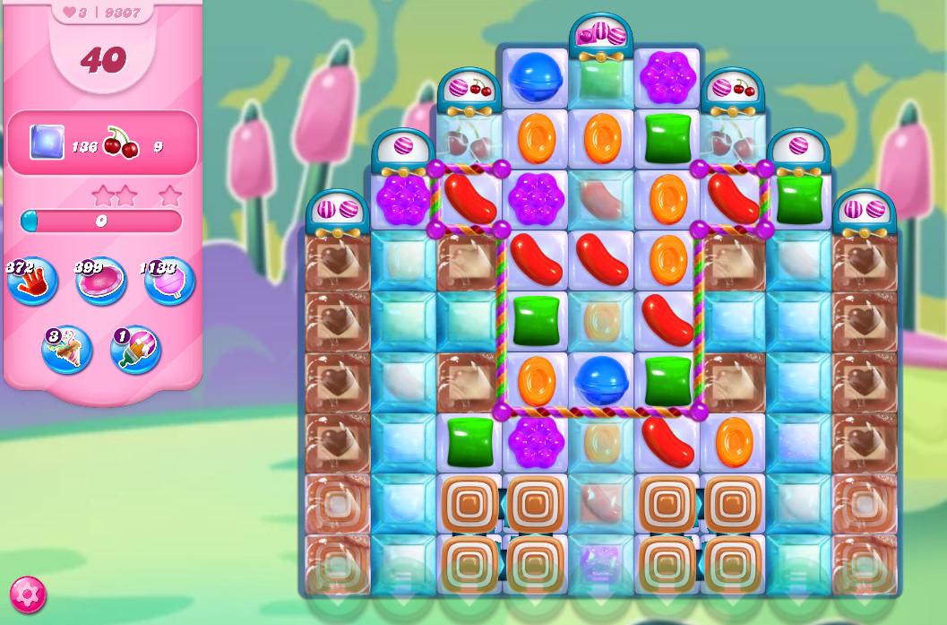 Candy Crush Saga level 9307