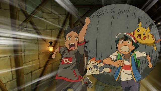 Capitulo 14 Serie Viajes Pokémon: ¡La primera visita a la región Isshu! ¡Batalla de Incursión en las ruinas!