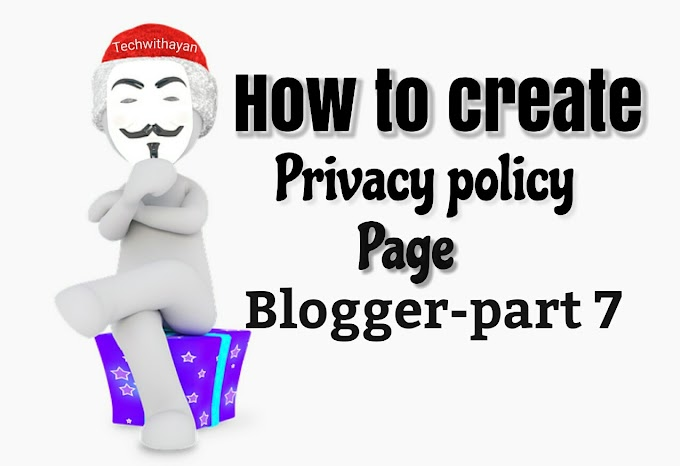Privacy Policy page kaise banaye blog ke liye step by step full guide in hindi