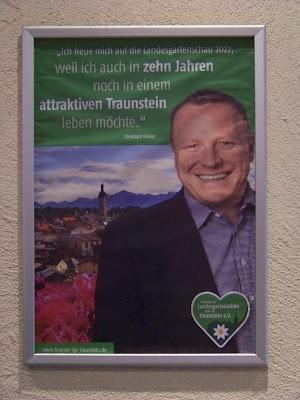 Christoph Kraller zur Landesgartenschau Traunstein