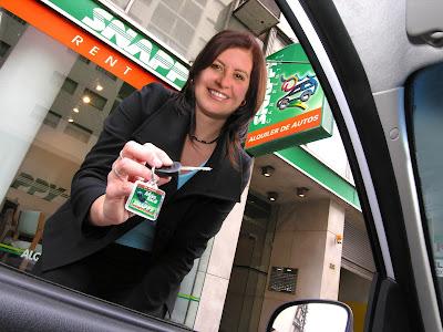 Llave de auto Snappy Car Rental