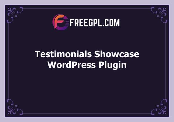 Testimonials Showcase – WordPress Plugin Free Download