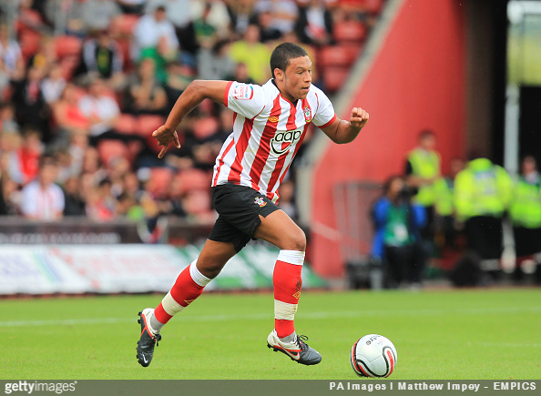 New Liverpool signing Alex Oxlade-Chamberlain during his playing days with Southampton