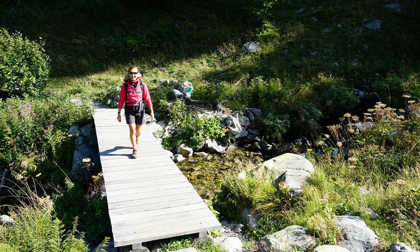 Crossing Vallon de Prals